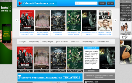 Access yabancifilmsinema.com using Hola Unblocker web proxy