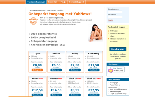 Access yabnews.nl using Hola Unblocker web proxy