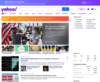Access yahoo.com using Hola Unblocker web proxy