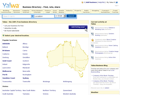 Access yalwa.com.au using Hola Unblocker web proxy