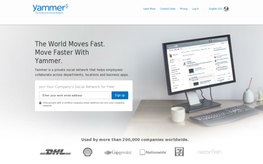 Access yammer.com using Hola Unblocker web proxy