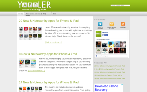 Access yappler.com using Hola Unblocker web proxy
