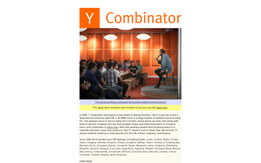 Access ycombinator.com using Hola Unblocker web proxy