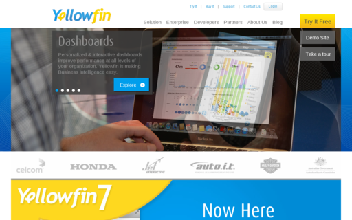 Access yellowfinbi.com using Hola Unblocker web proxy
