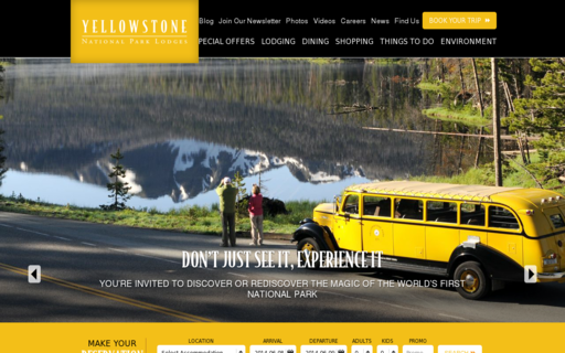 Access yellowstonenationalparklodges.com using Hola Unblocker web proxy
