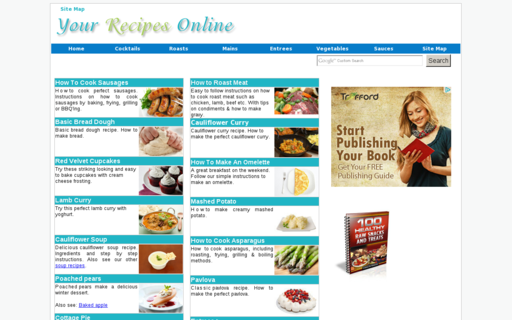 Access your-recipes-online.com using Hola Unblocker web proxy
