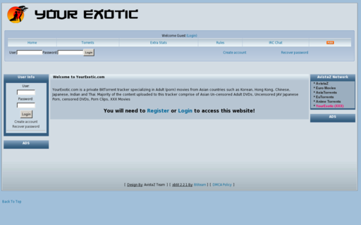 Access yourexotic.com using Hola Unblocker web proxy