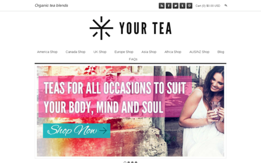 Access yourtea.com using Hola Unblocker web proxy