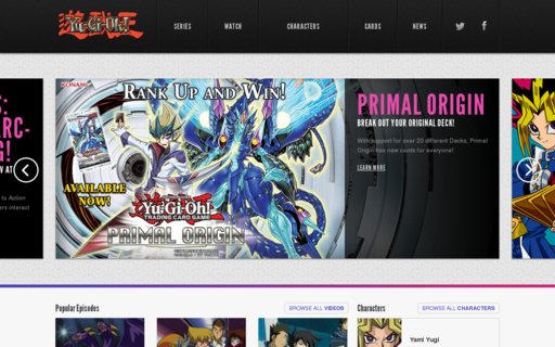 Access yugioh.com using Hola Unblocker web proxy