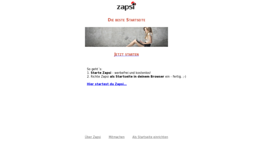 Access zapsi.de using Hola Unblocker web proxy