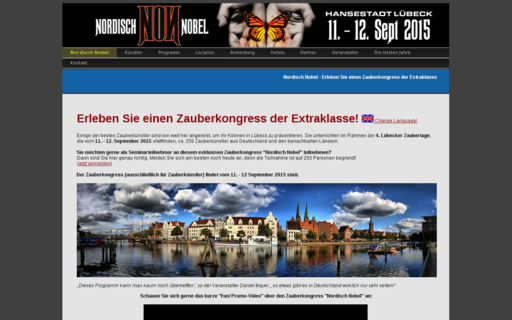Access zauberkongress.de using Hola Unblocker web proxy