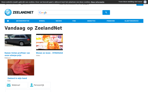 Access zeelandnet.nl using Hola Unblocker web proxy