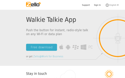 Access zello.com using Hola Unblocker web proxy