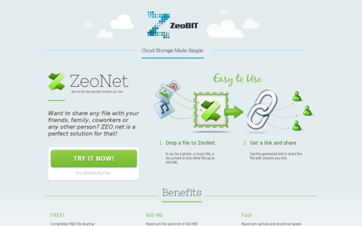 Access zeobit.com using Hola Unblocker web proxy