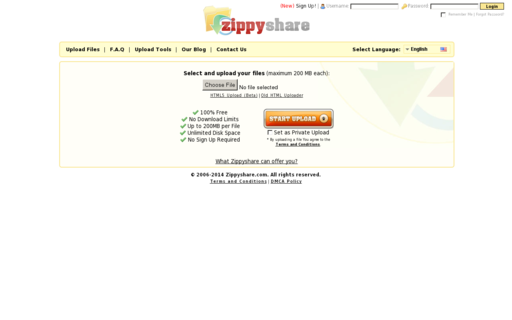 Access zippyshare.com using Hola Unblocker web proxy