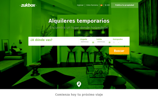 Access zukbox.com using Hola Unblocker web proxy