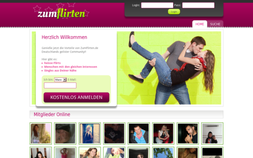Access zumflirten.de using Hola Unblocker web proxy