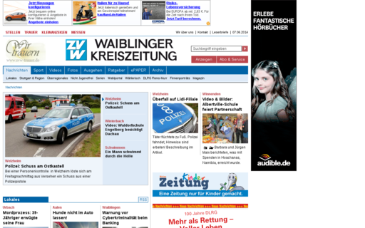 Access zvw.de using Hola Unblocker web proxy