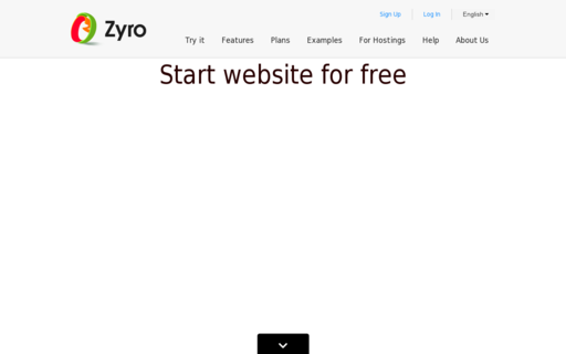 Access zyro.com using Hola Unblocker web proxy